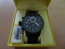 Invicta 1517 Chronograph 46 mm Wrist Watch Men's Black Left Handed MSRP $595
