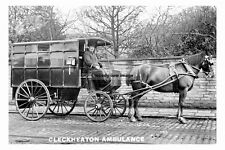 pt4659 - Cleckheaton , Horse Drawn Ambulance , Yorkshire - photo 6x4
