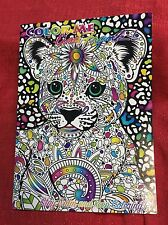 Color Me Lisa Frank Adult Coloring book - 16 Tear Out Pages