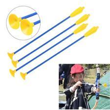 60cm Pvc Sucker Archery Arrows Target Arrow Practice Arrow For Children Toy Bow