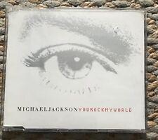 CD SINGLE - MICHAEL JACKSON - You Rock my World [2001]
