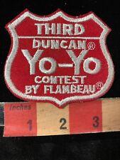 Vintage Patch Second Duncan Yo-Yo Contest by Flambeau 2nd Place Winner Patch 60/'s 70/'s Collectible Memorabilia