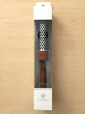 "ACCA KAPPA 1869 Italy Non Slip Wood handle HAIR BRUSH Nylon Bristle 10"" BOX NEW"