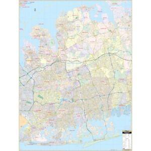 Nassau County, NY Wall Map