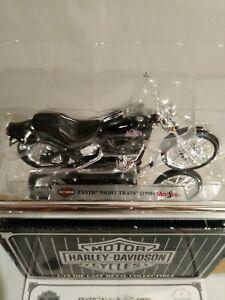1999 FXSTB Harley Davidson Night Train Maisto 1:18 Die Cast Avon 33397 New