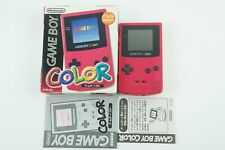 Nintendo Gameboy COLOR Red Console GBC Box From Japan