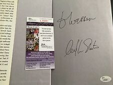 William Shatner Signed Book JSA Authenticated Autograph Star Trek