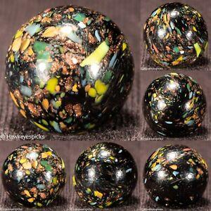RARE EPIC Jabo LUTZ GUINEA FRITT Midnight Base Marble 5/8 mint hawkeyespicks sg