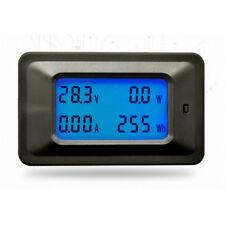 DC 20A 100V LCD Digital Volt Watt Current Power Meter Ammeter Voltmeter Kj