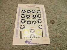 Superscale decals 1/48 48-724 F4F-3/4 Wildcats VMF-224 VF-6 -9  N112