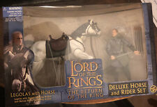 New ListingLord Of The Rings Deluxe Horse And Rider Set Legolas With Horse Action Figure