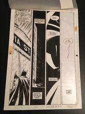 Detective Comics #672 P. 15 Graham Nolan Original Art Batman DC Comics