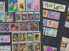 Grenada 1968-92 Used FU Full Sets Minisheets Scouts  Flowers Madonna Kennedy