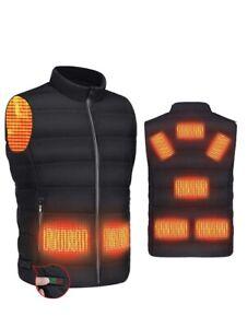 Heated Vest USB Charging Warming Lightweight Heated Jacket Large - X-Large