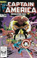 Captain America Comic Issue 288 Bronze Age First Print 1983 J M Dematteis Beatty