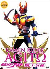 Kamen Rider Agito DVD - eps : 1 to 51 end with English Subtitle