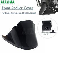 Lower Front Spoiler Chin Fairing Cover for Harley Sportster XL1200C XL883 Custom