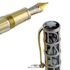 Montblanc Skeleton Salvador Dali Gold Limited Edition100 Fountain Pen