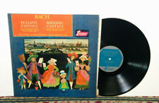 Bach: Peasant Cantata / Wedding Cantata, LP 1966, Turnabout 1966 Made in USA, NM