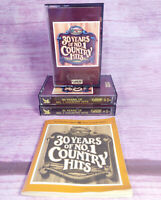 30 Years of Country Hits Music Readers Digest Three Cassettes Program Notes 1986