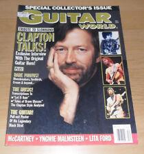 GUITAR World Magazine ha, dec 1989 Eric Clapton edizione da collezione
