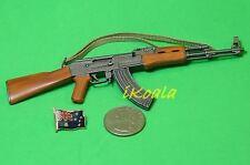 AK-47 #1 1:6 Scale Action Figure DRAGON RUSSIAN MACHINE GUN ASSAULT RIFLE