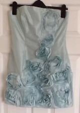 Special Occasion Light Aqua Green Mini Dress Detachable Straps Red Herring 10