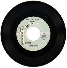 "JIMMY GILFORD  ""NOBODY LOVES ME LIKE MY BABY""  NORTHERN SOUL / R&B    LISTEN!"