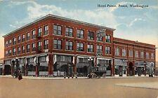 C19/ Pasco Washington WA Postcard c1910 Hotel Pasco Building