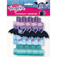 VAMPIRINA BLOWOUTS (8) ~ Birthday Party Supplies Favors Noisemakers Horns Paper