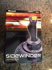 Microsoft Sidewinder 1.0 USB  PC Wired Joystick