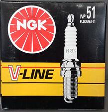 4x Original NGK Bujía v-line51 plzkar6a-11 91136 NISSAN #