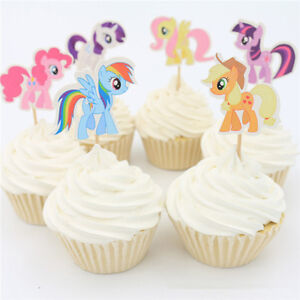 My Little Pony CANDLE SET 1pcs ~ Happy Birthday Party Supplies Cake topper
