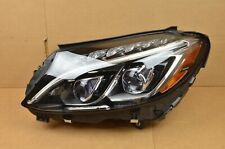 Mint! 15 16 17 18 Mercedes W205 C-Class Left Driver LH Dual LED Headlight OEM