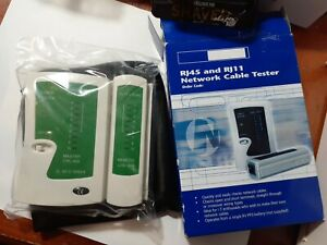 RJ45 And RJ11 Network Cable Tester ~ BRAND NEW IN BOX ~ FREE S&H in USA!