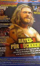 Power Wrestling März 03/2010 WWE WWF TNA + 4 Poster (Tour, Edge, Mickie, Rey)