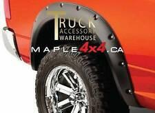 2009-2017 Dodge Ram 1500 Pocket-Riveted Style Black Fender Flares 4pcs Set