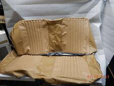 NEW 71-72 CHEVELLE CONVERTIBLE NEW REAR SEAT COVERS LIGHT SADDLE MALIBU SS CONV