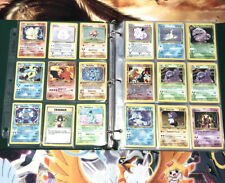 Pokemon Cards Collection Binder Lot Holo WOTC Base Shadowless with Charizard