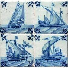 Dutch Ship Tiles: Amsterdam, Utrecht, Harlingen, Makkum - Paperback / softback N