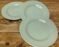Grupo Vista Alegre Portugal Celadon Green Prisma Smooth Rim 3 Salad Plates EMA