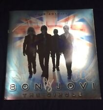 Bon Jovi The Circle Tour 2010-11 Autographed