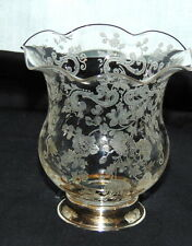 "Cambridge CHANTILLY CRYSTAL*3"" TOOTHPICK* STERLING BASE*"