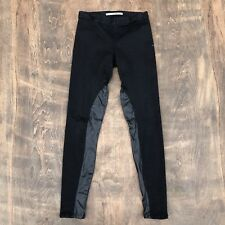 JOES BLACK SKINNY Riding Legging Pants Faux Leather Medium