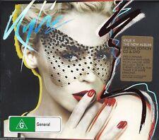 KYLIE MINOGUE X ENHANCED CD & DVD ALL REGIONS PAL