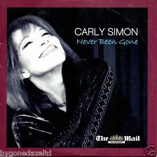 CARLY SIMON - NEVER BEEN GONE THE MAIL PROMO CD(FREE UK POST)