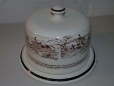 Burleigh Staffordshire Pottery Cheese Dish