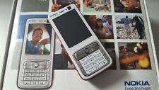 Nokia n73 (Unlocked) Smartphone White Red