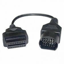 Mazda 17 Pines A 16 Pin Mujer Obd2 Obdii auto diagnóstico Adaptador Conector De Cable