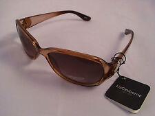Liz Claiborne Gafas de sol, marrón transparente, 82018 100% de protección UV